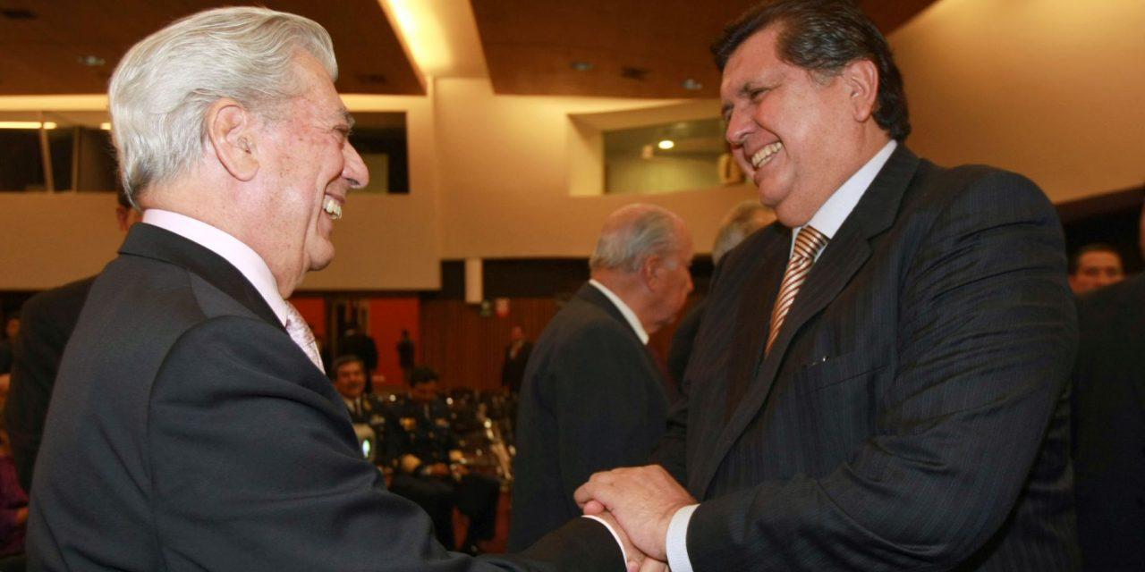 PALABRAS DEL PREMIO NOBEL | Mario Vargas Llosa dedica columna a Alan García y pide que impacto por su muerte no interrumpa labor fiscal