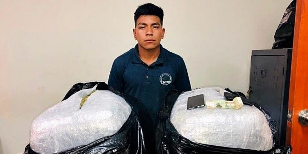 CAE 'CHAYANNE' | Detienen a 'Chayanne' con más de 20 kilos de marihuana
