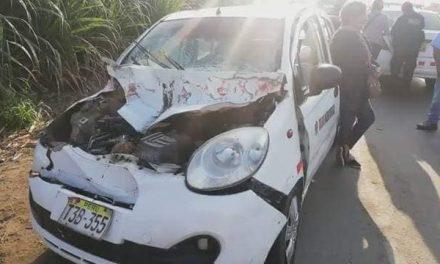 ¡¡¡TRAGEDIA!!! | Un muerto y dos heridos deja accidente en carretera a la sierra liberteña