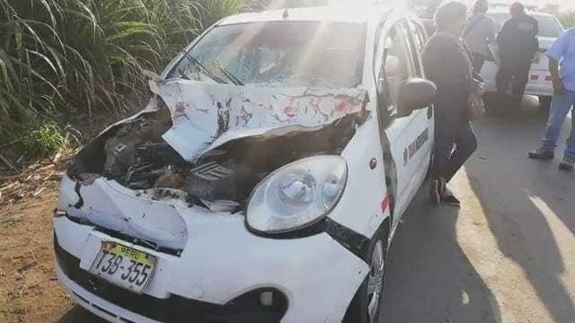 ¡¡¡TRAGEDIA!!!   Un muerto y dos heridos deja accidente en carretera a la sierra liberteña