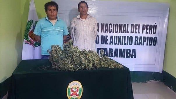 DROGA EN SUS CASAS | Detienen a dos personas con kilos de marihuana