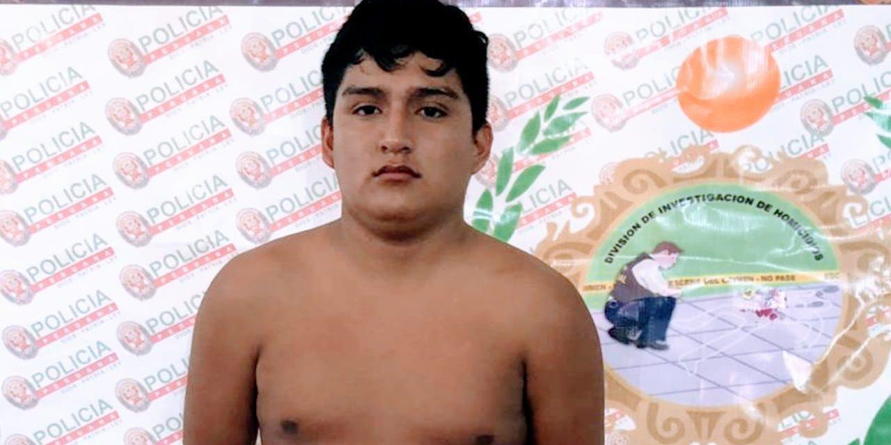 MENOR ASESINO | Cae «Narizón», sicario autor de dos asesinatos