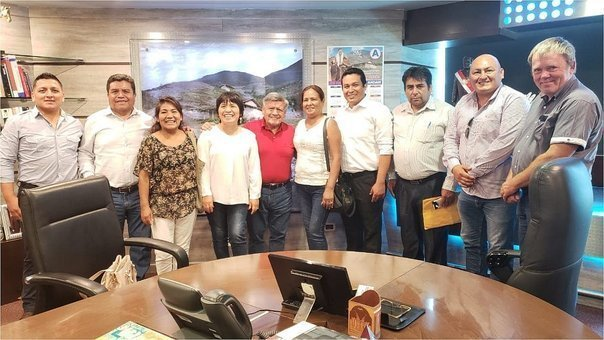 TRUJILLO: SE UNEN | Alcaldes de centros poblados se unen para frenar problemas en sus zonas
