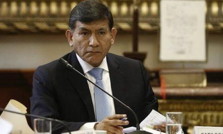 ADVERTIDOS ESTÁN | Ministro del Interior culpa a los Chávez Sotelo si diálogo de rompe en Las Bambas