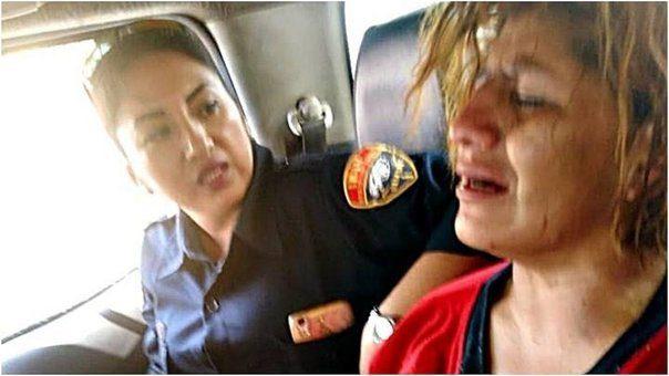 SE VOLVIÓ LOCA | Mujer ataca a dueña y causa destrozos al interior de restaurante