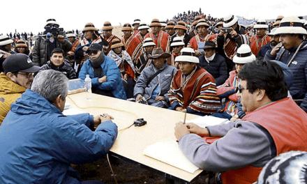 LAS BAMBAS DE NUNCA ACABAR | Se reanuda el diálogo entre el Ejecutivo, Gregorio Rojas y empresa minera