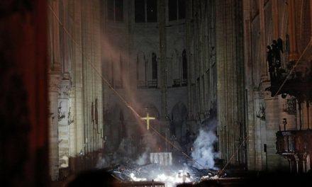 EL DÍA DESPUÉS DEL INFIERNO | Primeras imágenes de la catedral de  Notre Dame (FOTOS)
