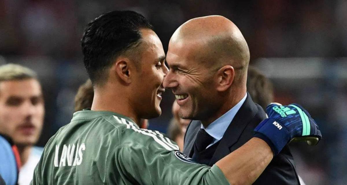 TODO QUEDA EN FAMILIA | Zidane bota a Keylor Navas para poner en su puesto a su hijo, Lucas Zidane
