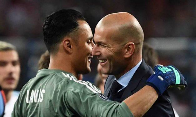 TODO QUEDA EN FAMILIA   Zidane bota a Keylor Navas para poner en su puesto a su hijo, Lucas Zidane