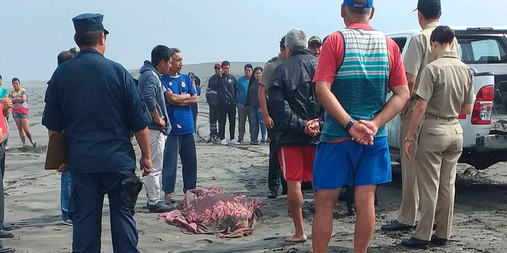 SE ACABÓ LA ANGUSTIA | Mar de Salaverry devuelve cuerpo de escolar desaparecido