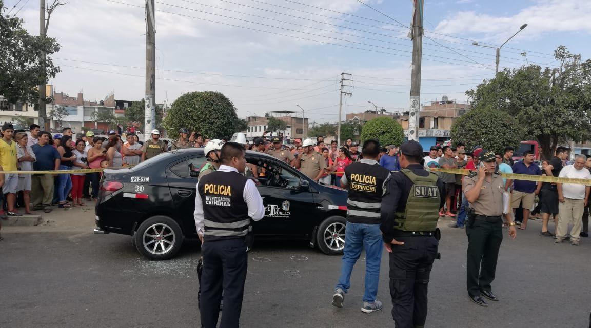 LOS ASESINATOS NO PARAN | Sicarios matan a balazos a tres personas en Trujillo