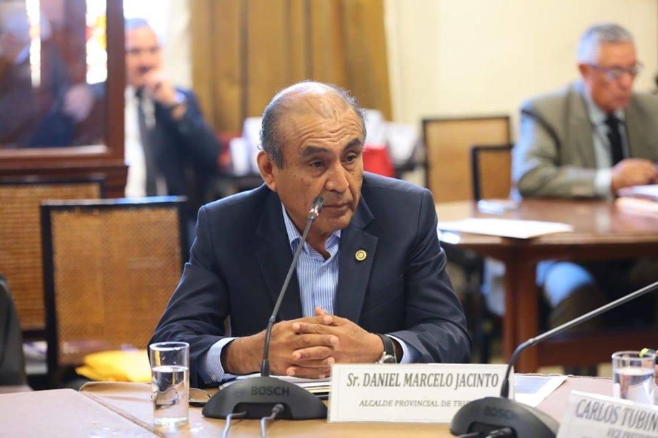DANIEL MARCELO EN EL CONGRESO | Alcalde de Trujillo expone motivos para que el Ejército salga a las calles