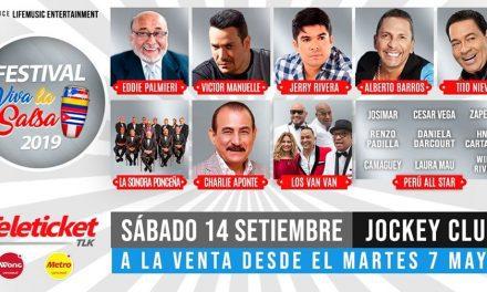 SALSERO, ESTO ES PARA TI | Festival 'Viva la Salsa' reunirá a La Sonora Ponceña, Los Van Van de Cuba, Eddie Palmieri y más de cinco artistas internacionales