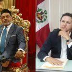 COMENZÓ EL SHOW   Presidente del Congreso, Daniel Salaverry, anunció entrevista con 'Chibolín'