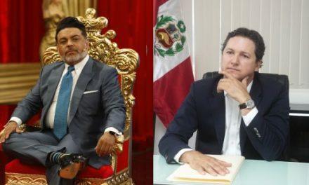 COMENZÓ EL SHOW | Presidente del Congreso, Daniel Salaverry, anunció entrevista con 'Chibolín'