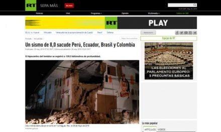 EN LOS OJOS DEL MUNDO | Así informa la prensa internacional sobre el terremoto en Loreto (FOTOS)
