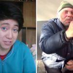 EJEMPLAR SANCIÓN   Condenan a youtuber que humilló a un mendigo con galletas rellenas de pasta de dientes