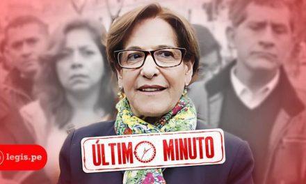 YA FUISTE SUSANA | Poder Judicial dicta 18 meses de prisión preventiva exalcaldesa de Lima