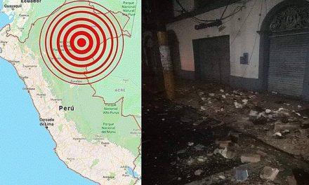 FELIZMENTE, SÓLO DAÑOS MATERIALES | 88 viviendas, 2 colegios y 2 hospitales inhabitables tras terremoto de 8 grados en Loreto