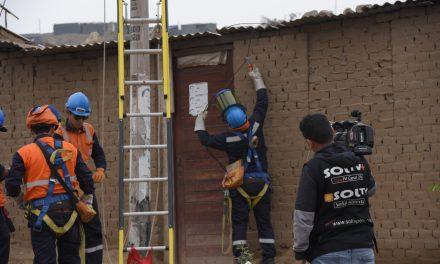 LUCHA CONTRA LA INFORMALIDAD | Cortan conexiones eléctricas clandestinas en Alto Trujillo, El Porvenir y Florencia de Mora