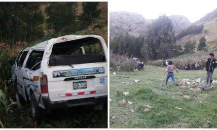 TRAGEDIA EN LAS PISTAS | Dos muertos y cuatro heridos en accidente de tránsito en Huamachuco