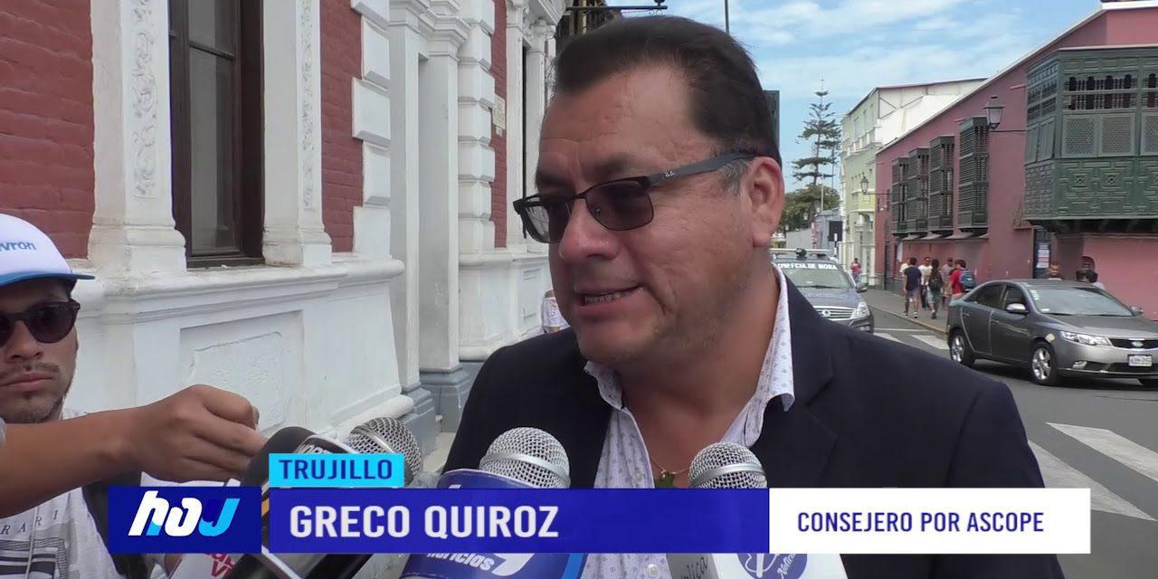 NADIE SE SALVA | Consejero regional por Ascope denuncia que es víctima de extorsión