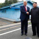 ENCUENTRO HISTÓRICO   Trump, primer presidente de Estados Unidos que pisa Corea del Norte
