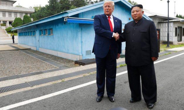 ENCUENTRO HISTÓRICO | Trump, primer presidente de Estados Unidos que pisa Corea del Norte