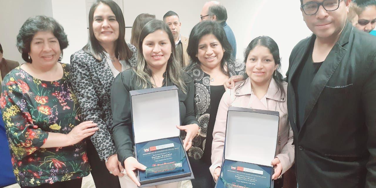 ARRASARON CON LOS PREMIOS   Red de Salud de Sánchez Carrión se impone en concurso nacional