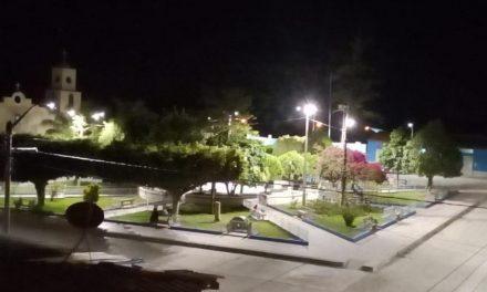 ELECTRO ORIENTE: Se instala nueva luminaria LED en plazas, parques y avenidas principales de Amazonas y Cajamarca