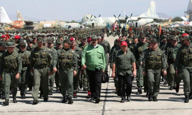TENSIÓN ENTRE VENEZUELA Y COLOMBIA   El régimen de Nicolás Maduro desplegará 150.000 militares en la frontera