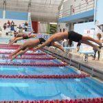 TODOS AL AGUA   La Federación Deportiva Peruana de Natación organiza la V Copa Ciudad de Trujillo en la Piscina Olímpica