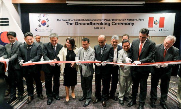 POR UN MEJOR SERVICIO   Hidrandina y Corea del Sur implementarán centro de control de monitoreo eléctrico