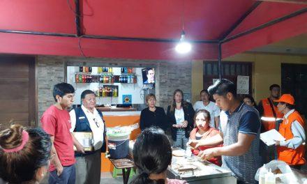 MANO FIRME | Municipio de Florencia de Mora realiza inspección inopinada en más de 15 locales de venta de alimentos y bodegas