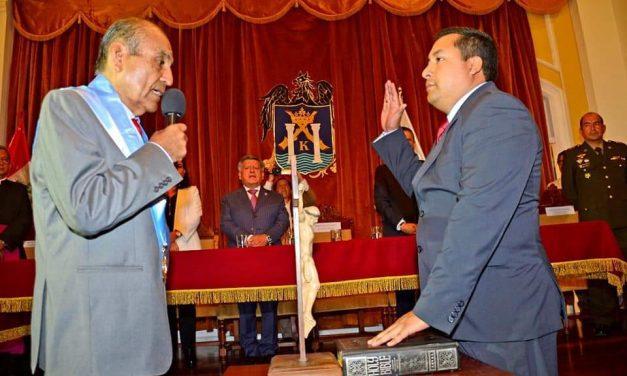 EL ELEGIDO: Primer regidor José Ruiz advierte que está preparado para asumir la alcaldía de Trujillo