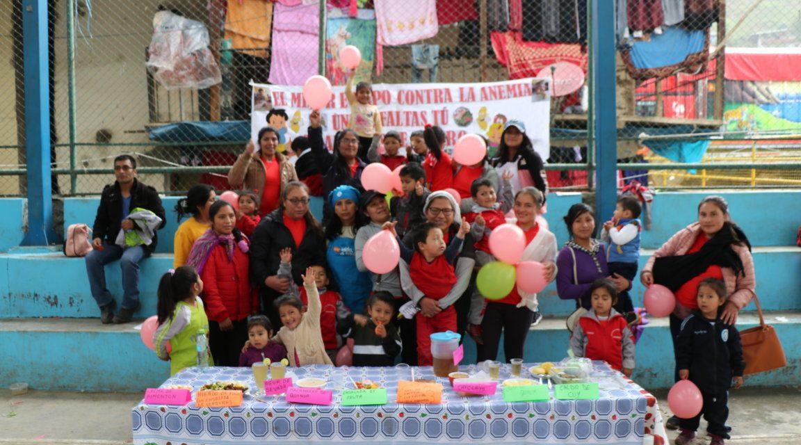 MARSA APOYA LUCHA CONTRA LA ANEMIA | Minera organiza una feria gastronómica en  Llacuabamba