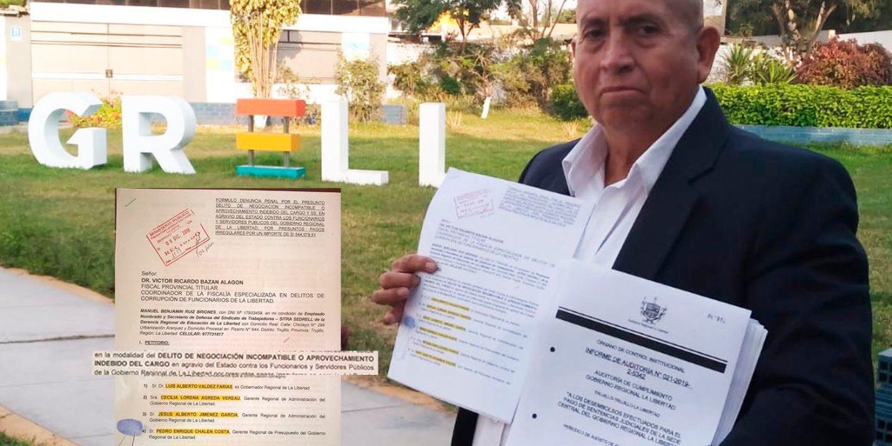 UNA RAYA MÁS A LUIS VALDEZ | Denuncian a exgobernador ante fiscalía anticorrupción