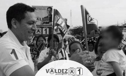 LA ESTRATEGIA DE VALDEZ | Candidato al congreso usa a niños y niñas para nutrir su campaña electoral