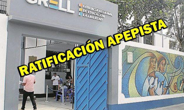 GRELL Y LA DESIGNACIÓN 'POLÍTICA' DE DIRECTORES EN UGELES   Responsabilizan a exgerente Rafael Moya de influir en procesos de ratificación
