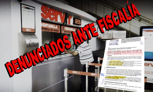 MIEMBROS DEL SERVIR SON DENUNCIADOS ANTE FISCALÍA | Salvar a docente acusado de hostigamiento sexual contra alumna les pasa factura