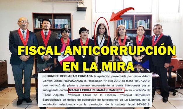 QUEJAN A FISCAL ANTICORRUPCIÓN   La acusan ante OCI de presunto favorecimiento a denunciados por peculado doloso