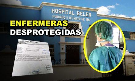 CAOS EN EL HOSPITAL BELÉN EN PLENA PANDEMIA | Personal de enfermería denuncia no contar con implementos de seguridad ante eventual contagio