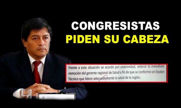 CONGRESISTAS PIDEN CAMBIO DE GERENTE | Sin embargo, gobernador regional, Manuel Llempén, no muestra voluntad