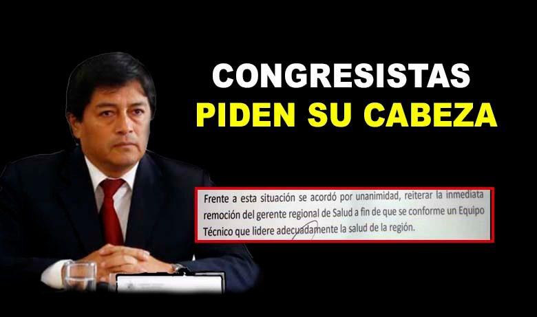 LA LIBERTAD: PIDEN 'LA CABEZA' DE GERENTE DE SALUD | Federación Médica pide el cambio inmediato de Constantino Vila