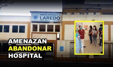 LAREDO: TRABAJADORES SUSPENDEN LABORES EN HOSPITAL | Personal de salud amenaza con abandonar servicios por caos existente (VÍDEO)