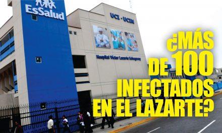 ¿MÁS DE CIEN INFECTADOS? | Mueren dos trabajadores en hospital Víctor Lazarte y denuncian que habrían más de un centenar de contagiados por COVID-19