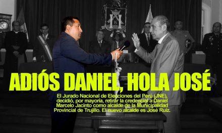 JNE SUSPENDE A DANIEL MARCELO DEL CARGO DE ALCALDE | José Ruíz asume riendas de la MPT, en medio de crisis institucional