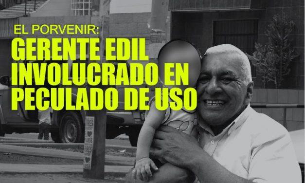 ESCÁNDALO | Imágenes comprometen a gerente edil usando camioneta de comuna para propósitos personales