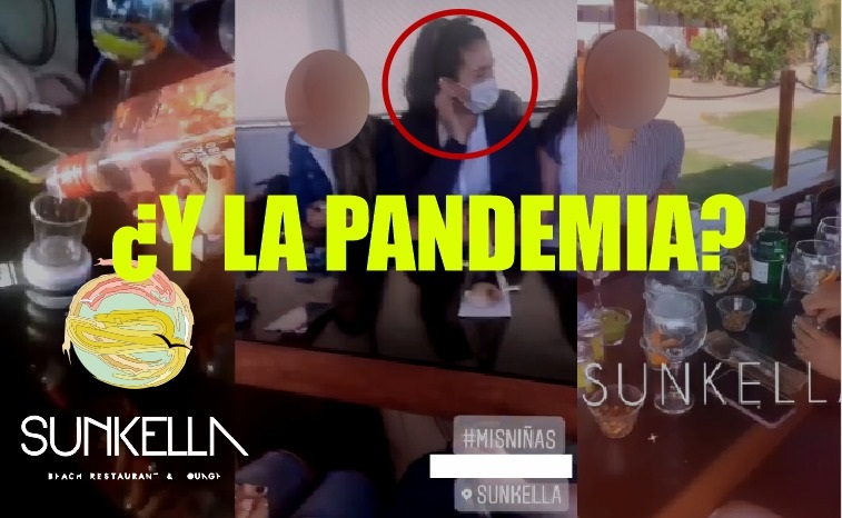¿QUÉ CORONA TIENEN? | Imágenes evidencian consumo de alcohol y falta de distanciamiento social en restaurante Sunkella durante estado de emergencia (VÍDEO Y FOTOS)