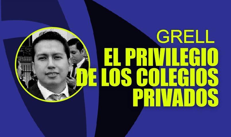 GRELL EN LA MIRA   Mafias otorgarían autorización a colegios privados de Trujillo